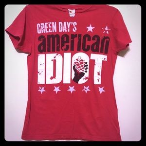 💚Green Day American Idiot NYC Rock Graphic Tee